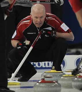 Edmonton Ab.Mar5,2013.Tim Hortons Brier.Ontario skip Glenn Howard.CCA/michael burns photo | by seasonofchampions