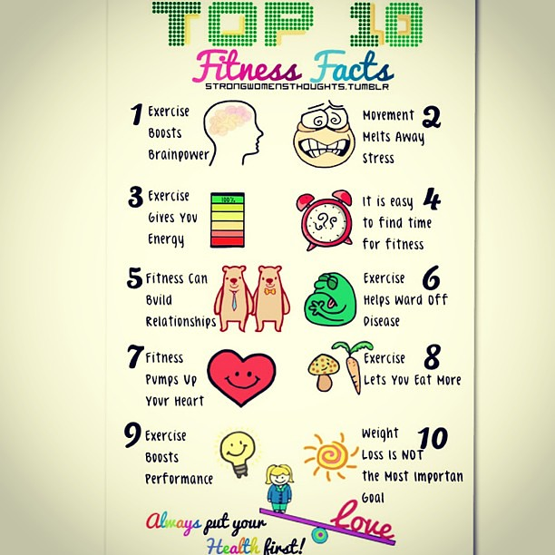 Top Ten Fitness Facts! #ig_fitness_freaks #bodesquad #xtre
