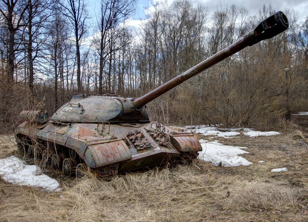 iosif stalin tank is 3 3 flickr. Black Bedroom Furniture Sets. Home Design Ideas