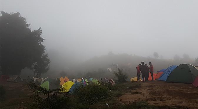 Kamping di Puncak Gunung Prau Enak Juga Kayaknya. Nanti Dua atau Tiga Tahun Lagi Balik ke Sini Mau Kamping