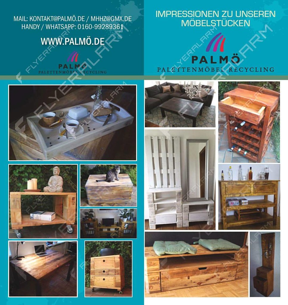 Palmo De Palettenmobel Holzmobel Recycling Holzrecycl Flickr