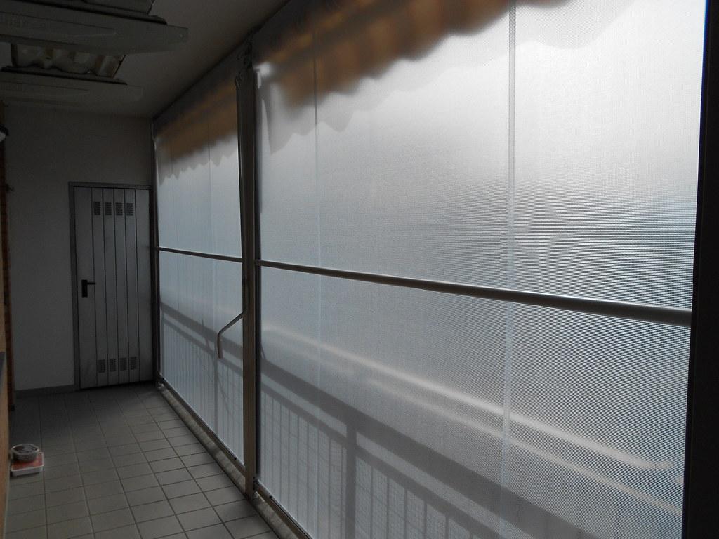 chiusura completa di balcone con tenda veranda estate inve ...