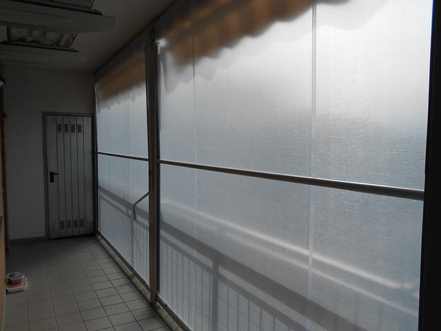 chiusura completa di balcone con tenda veranda estate inverno (estiva ...