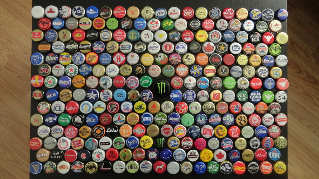 bottle cap collection lentamente pero ahi vamos slowly bu flickr