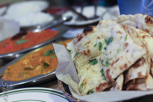 Garlic Cilantro Naan | Sher Yip | Flickr