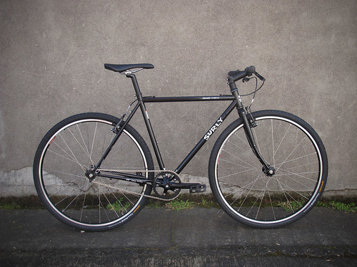 "Single Speed Surly Crosscheck ""BLACK"" 