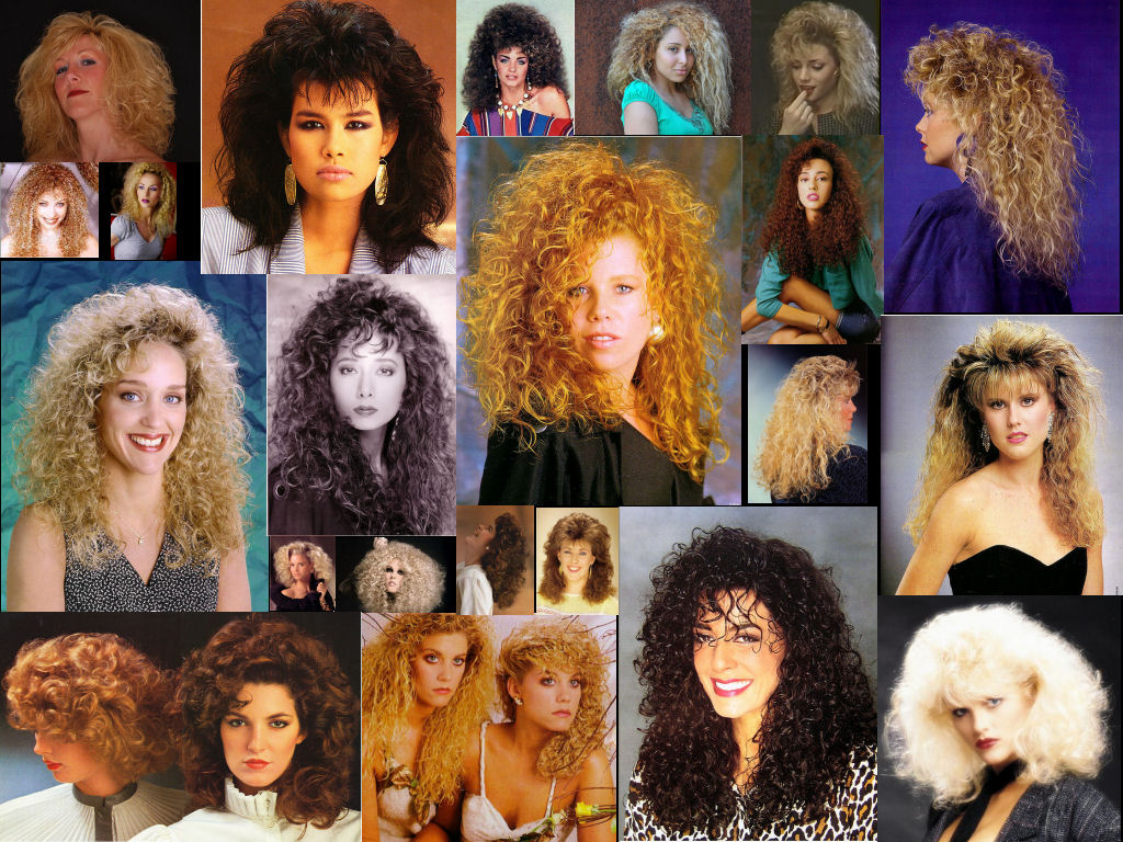 Go Big Or Go Home Hair Collage Assembled From Images