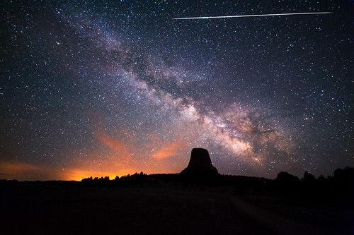 Devils Tower Eta Aquarids | by David Kingham