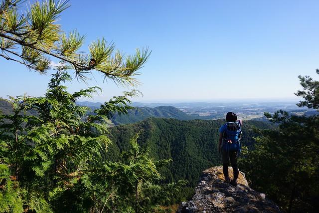 古賀志山 岩の展望台