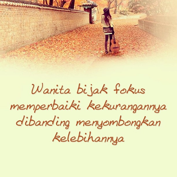 Life Inspiration Wise Quotes Woman Kata Kata Bijak Flickr