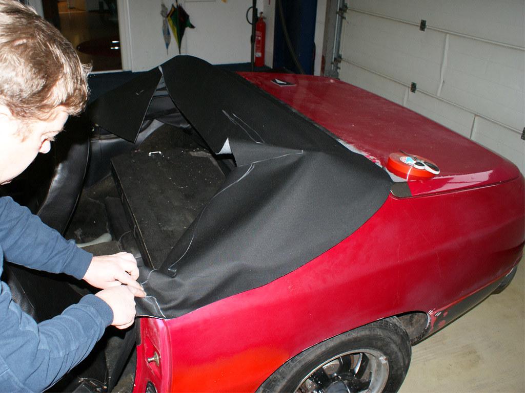 Porsche 924 944 Bieber Cabrio Umbau Mgs Montage 05 Flickr