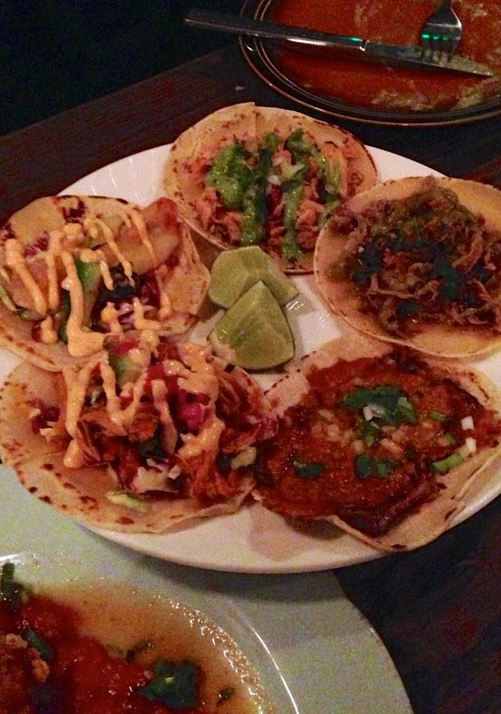 Taco Platter | Fish, carnitas, pork asado, carne asada, and ...