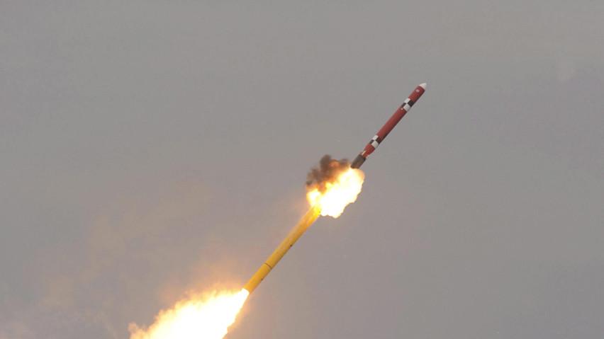 北韓多次試射飛彈,而川普以多次以其他議題轉移民眾對於北韓議題的注意力。圖片取自Times Asi
