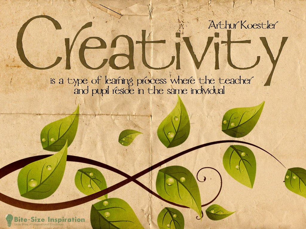 130423 Image With One of Arthur Koestler Quotes on Creativ ...