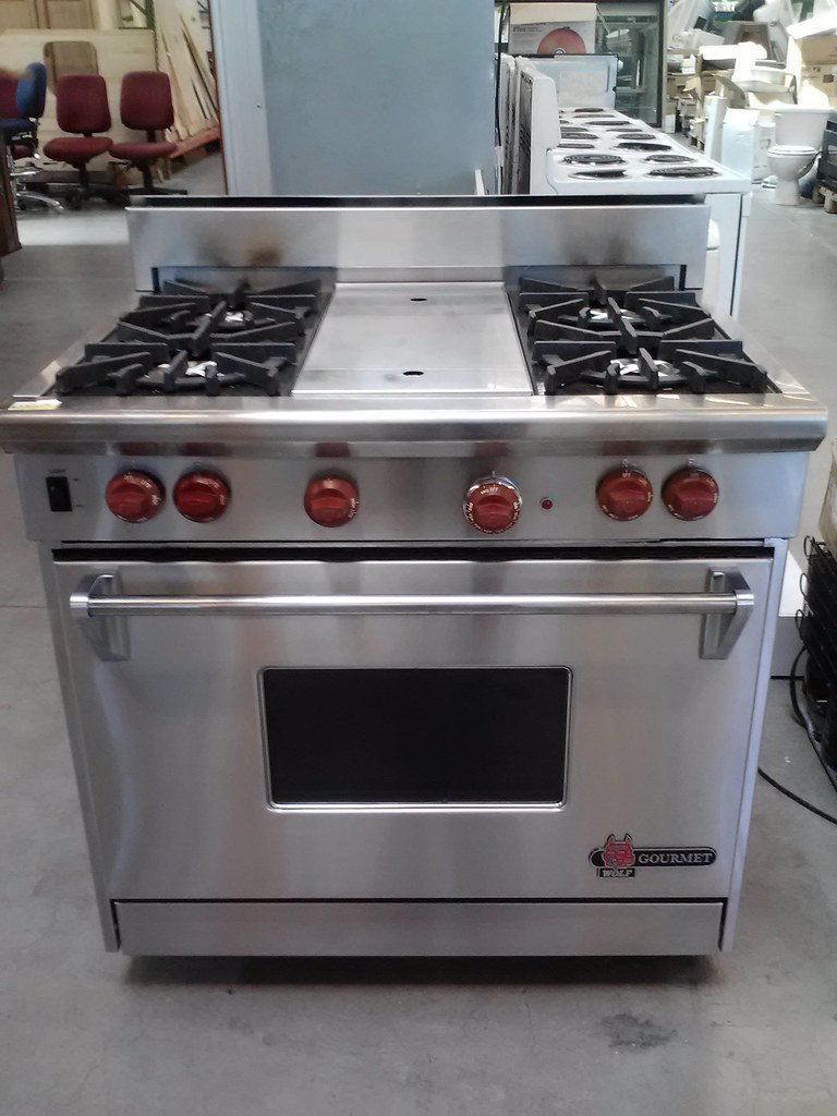 SOLD! Oakland- Wolf Gourmet Gas Range $3800 (Compare at $7… | Flickr