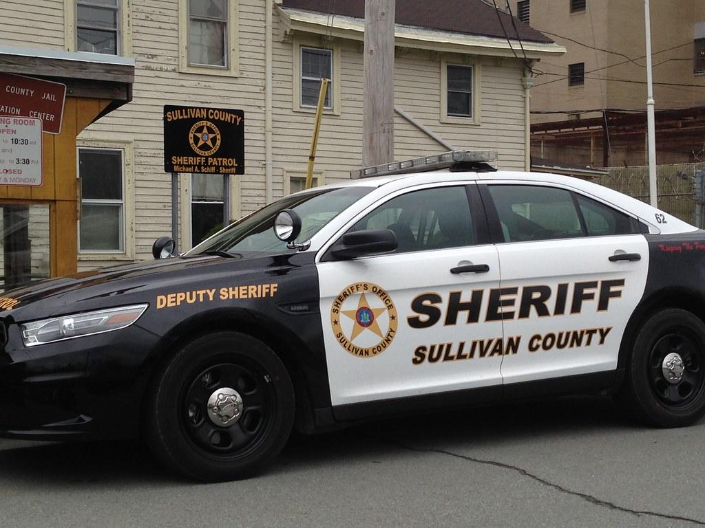 Sullivan County Ny Sheriff S Patrol Car Sullivan County