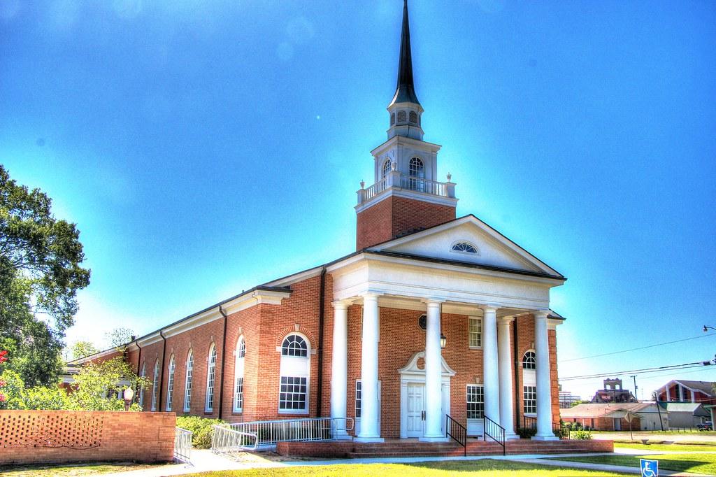 Historic Church Deridder La Vintage Building Methodist