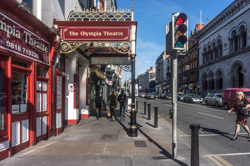 The Olympia Theatre On Dame Street Dublin Ireland Flickr