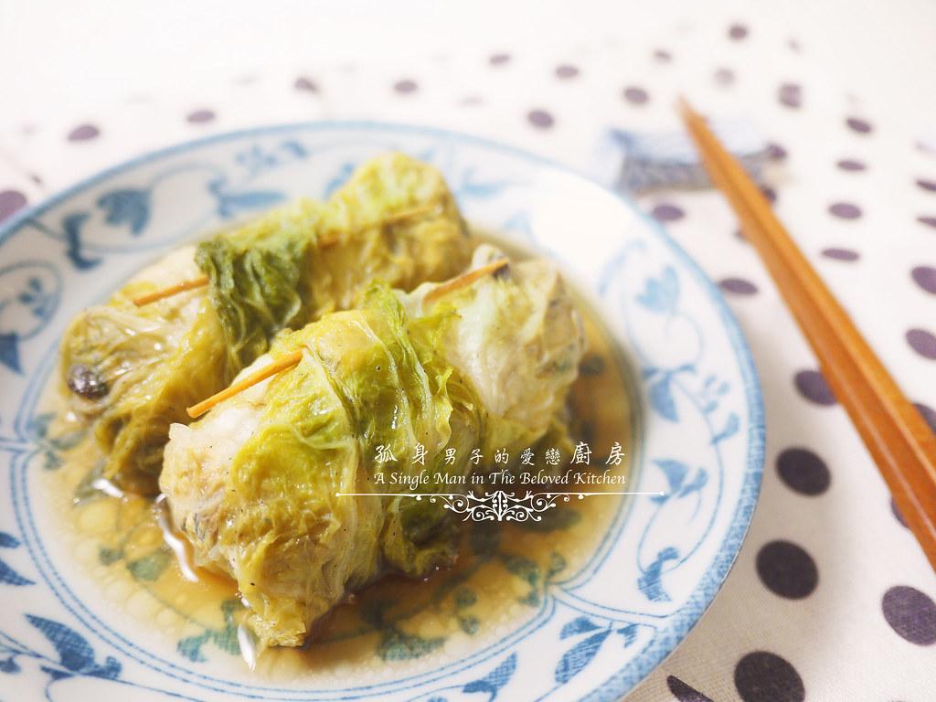 孤身廚房-大潤發義大利樂鍋史蒂娜湯鍋試用—日式白菜雞肉捲24