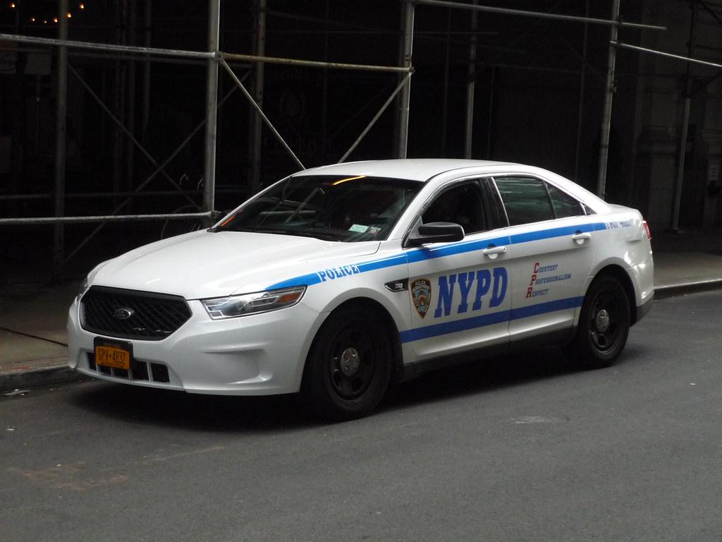 nypd ford taurus police interceptor jason lawrence flickr. Black Bedroom Furniture Sets. Home Design Ideas