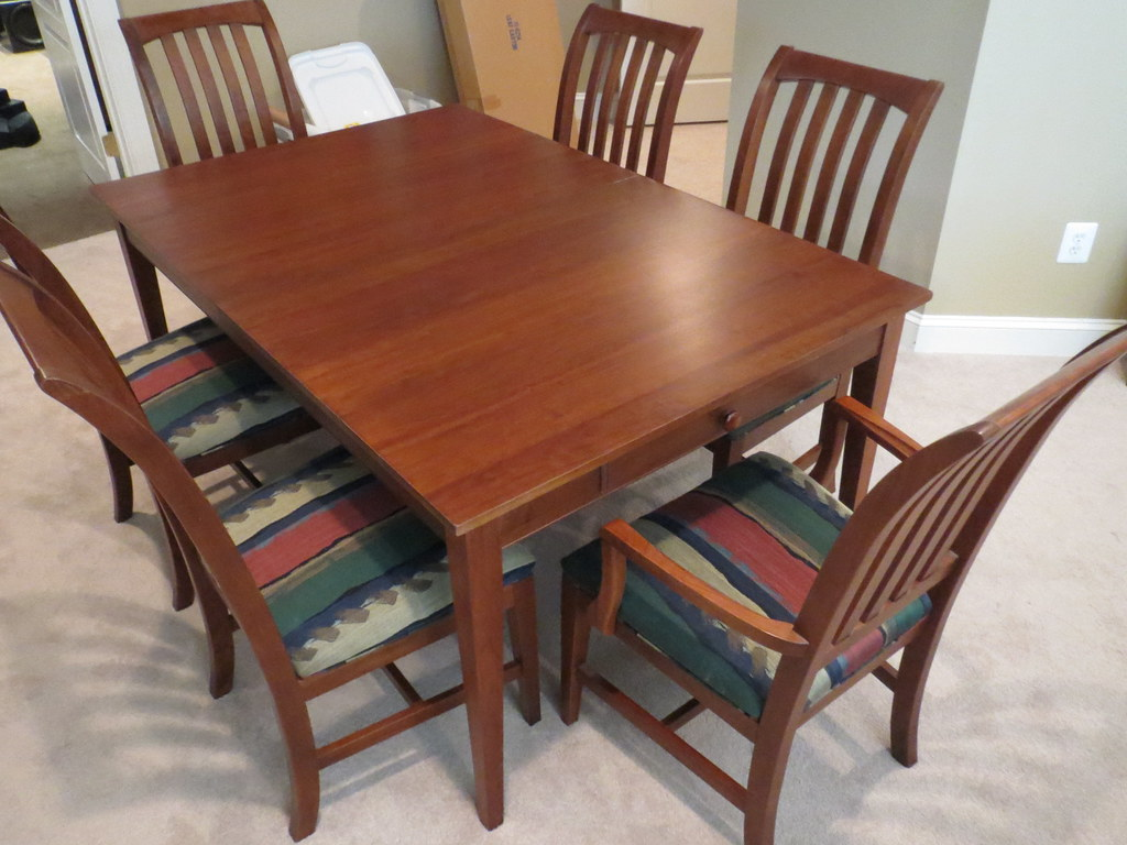 ... Ethan Allen American Impressions Dining Table 1 | By Schofield_scott