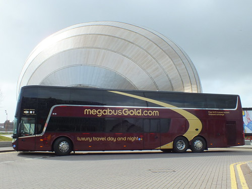 SF13FMC New Megabus Vanhool at a photoshoot outside Glasgows science centre | by WesternSMT