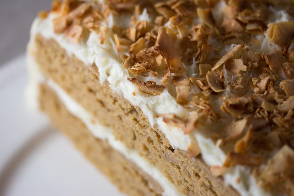 Vegan Cocnut Cake