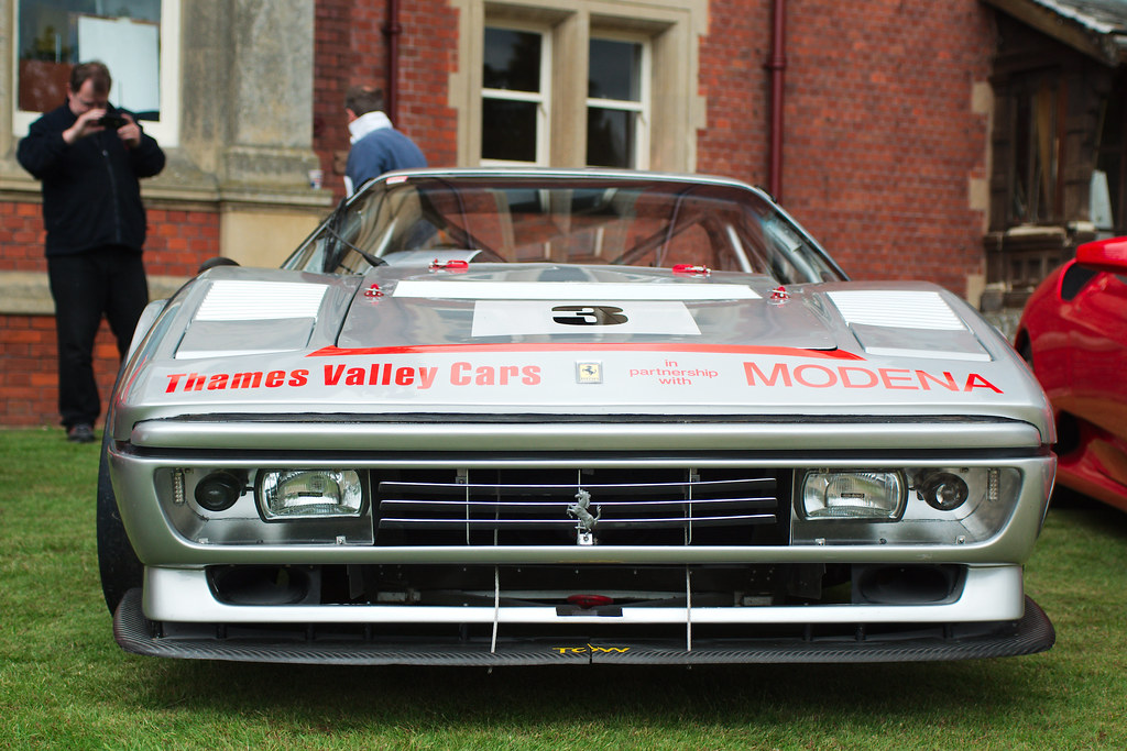 Ferrari 328 Race Modified Taken At The Bearwood