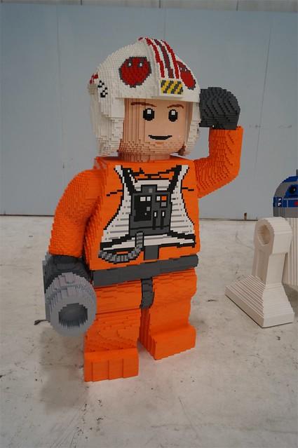 Life size LEGO X wing 2