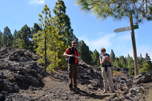 Trail finding, Walking La Palma