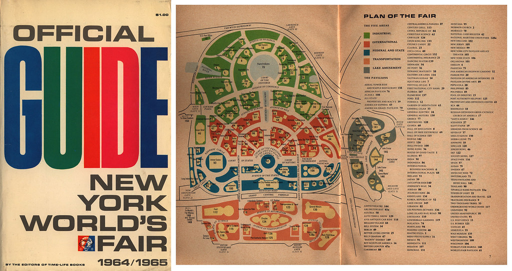 Official Guide New York World S Fair 1964 1965 Usa Flickr