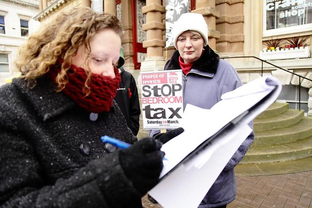 Bedroom Tax Protest Flickr Photo Sharing