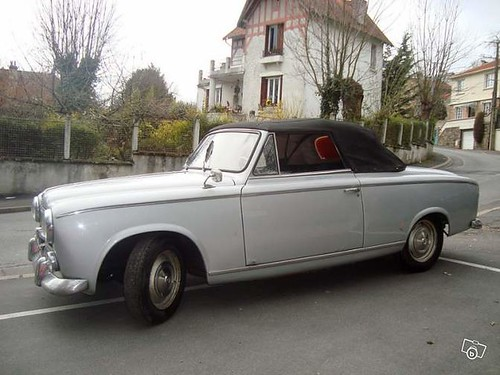 1960 peugeot 403 cabriolet for sale in france not by me flickr. Black Bedroom Furniture Sets. Home Design Ideas