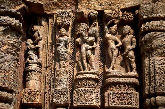Sculptures...Konark Sun Temple !!