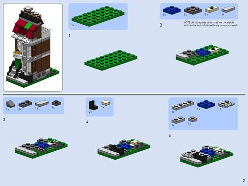 Pet Shop Lego Instructions