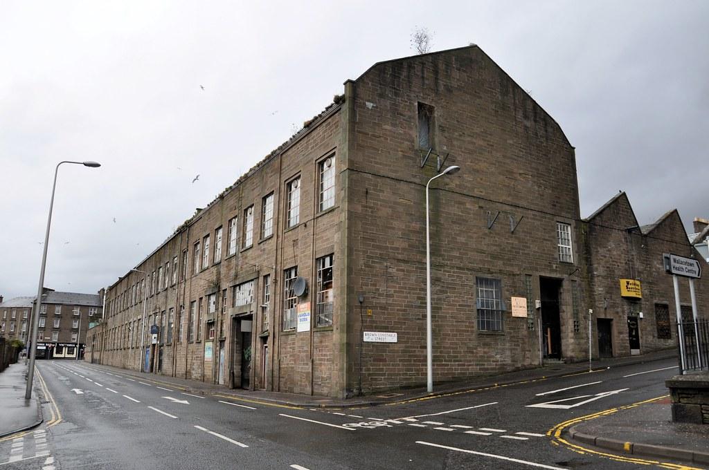 Eagle Mills Victoria Street Dundee The Eagle Jute