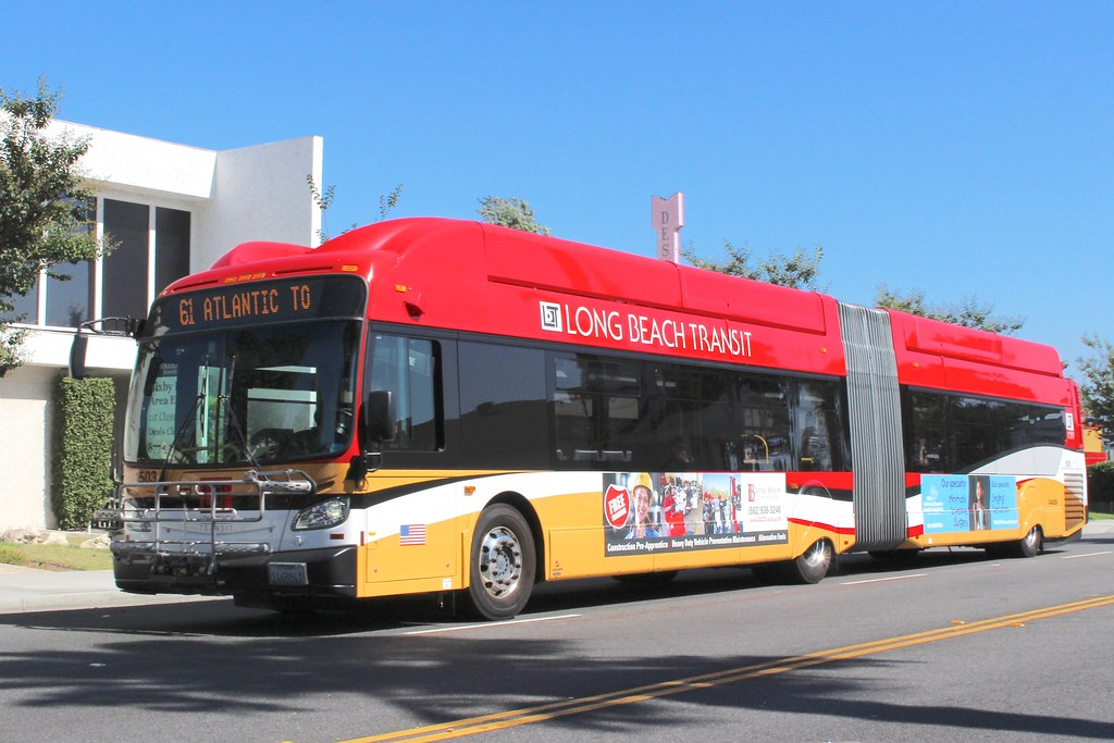 Southern California Electric >> Long Beach Transit | New Flyer Xcelsior XN60 bus in Long ...