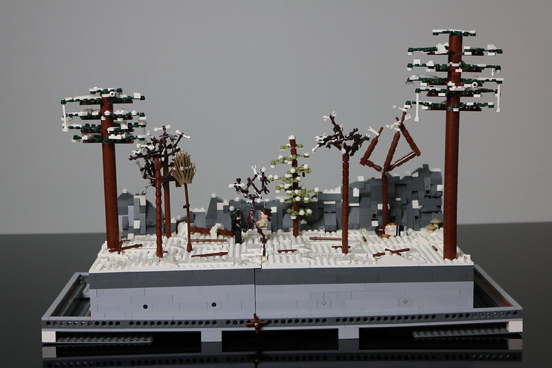 MOC: Starkiller Base Forest Duel - LEGO Star Wars - Eurobricks Forums