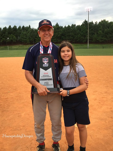 Tom and Graylyn/ASA National Championship 2016 - Housepitality Designs
