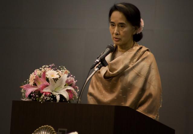 Aung San Suu Kyi In Tokyo #3