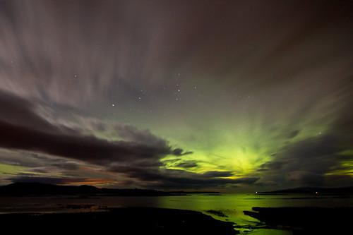 Northern Lights Skye Northern Lights Over The