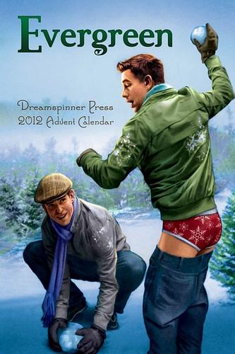 Free Romance Book Cover Art : Evergreen gay romance novel cover art by paul richmond