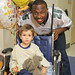 LeSean McCoy visits Children's Hospital