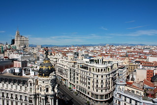Madrid, seen from the / vista desde el Círculo de Bellas Artes | by Trevor.Huxham