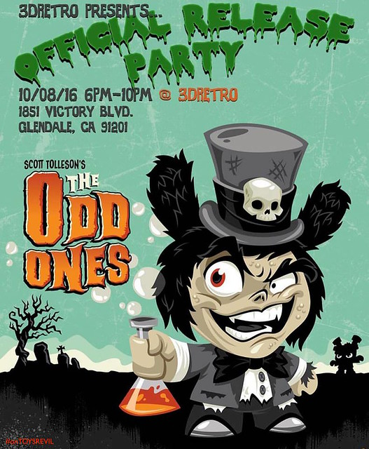 3D Retro Odd Ones Release Party