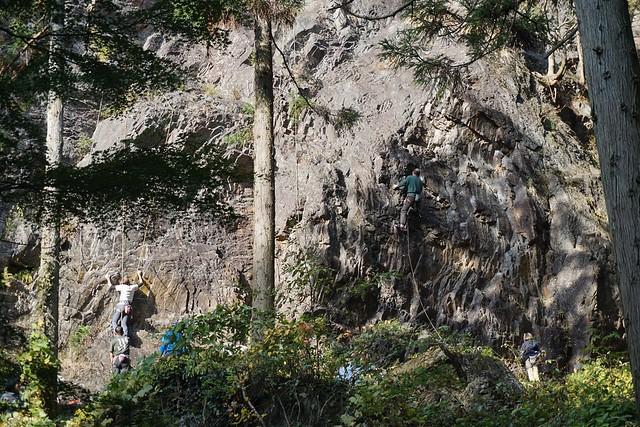 古賀志山 ロッククライミング