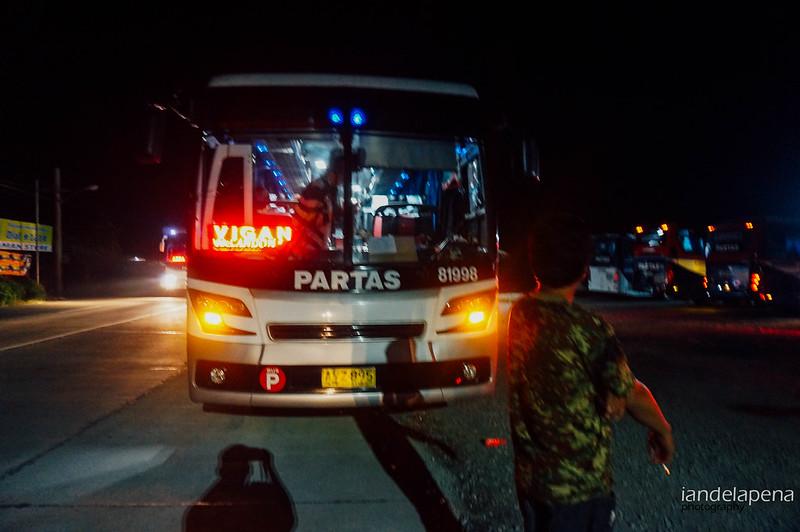 Ilocos Bound Bus