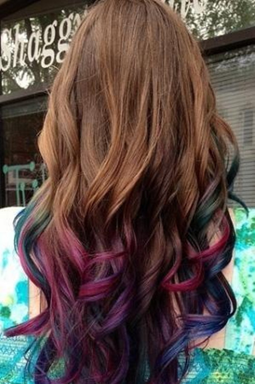 Purple Ombre Hair Share A Ombre Hair Color In This Spring Flickr