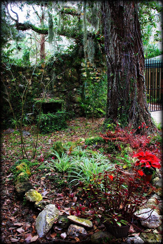 Wall At Sugar Mill Gardens Chris Crowley Flickr