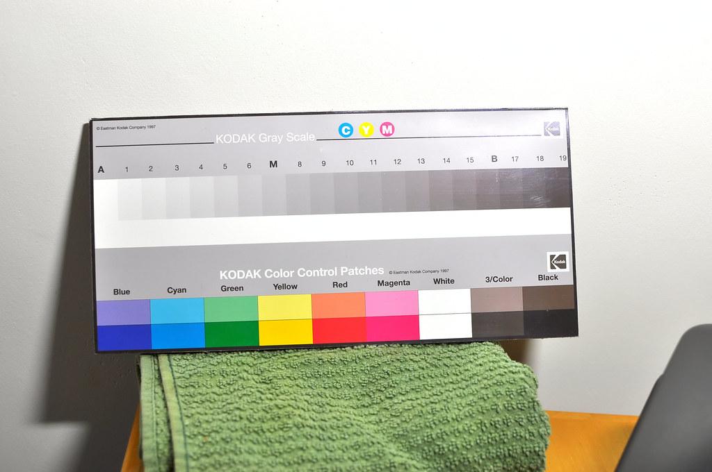 Camera Color Test Chart Kodak Testing My Colors Like Old Flickr